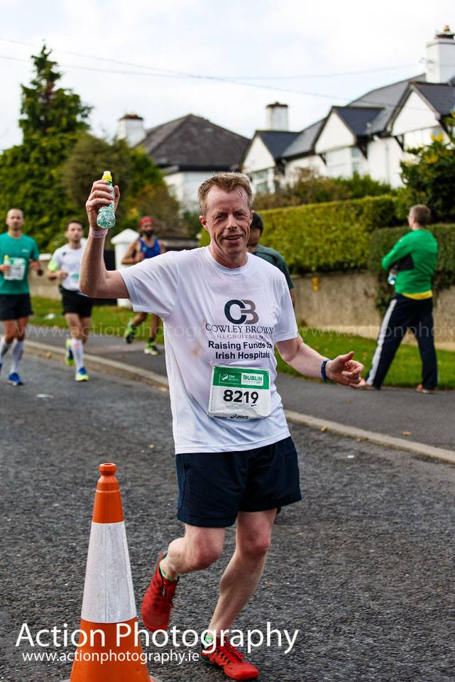 Cowley Brown Dublin Marathon report